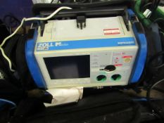 Zoll M Series biphasic defibrillator, powers on but not tested all functions.