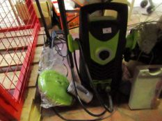 Unbranded Electric Jet Wash - With Accessories For Patio Cleaning - Untested.