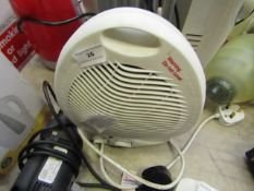 Benross - Portable Electric Heated/Fan - tested working