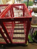 Gas Storaged Cages - Good Condition.