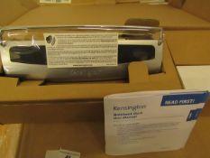 Kensington - Notebook Dock With Adjustable Base (EU) - Unused & Boxed.