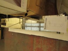 Habitat Spin Bathroom Storage unit with Mirror boxed unchecked