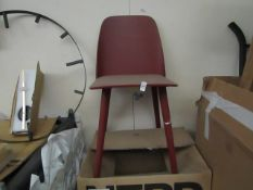 | 1X | MUUTO NERD DINING CHAIR | LOOKS UNUSED (NO GUARANTEE), BOXED | RRP£348 |