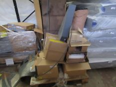 | 1X | PALLET OF MADE.COM RETURNS ALL WITH EITHER DAMAGE OR PARTS MISSING | CUSTOMER RETURNS |