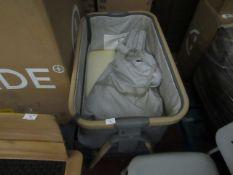 | 1X | TUTTI BAMBINI COZEE FOLD AWAY BEDSIDE CRIB WITH CARRY BAG | RAW CUSTOMER RETURN AND