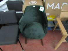 | 1X | MADE.COM LULE SWIVEL OFFICE CHAIR | NO MAJOR DAMAGE AND BOXED | RRP £199 |