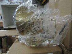 | 1X | SWOON JOEY WALL LAMP | LOOKS UNUSED (NO GUARANTEE) | RRP £69.99 |