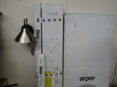| 1X | ARPER PARENTESIT FREESTANDING SCREEN MODULE IN STEEL AND LACQUERED MATT BLACK | LOOKS