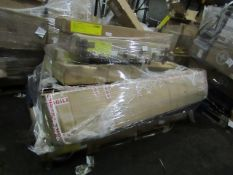 | 1X | PALLET OF MADE.COM RAW CUSTOMER RETURNS BED PARTS, CONDITION CAN RANGE BETWEEN NEW, UNWANTED,