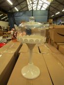 1 x GR8 Home - Cake Stand with Glass Cover - New & Boxed.