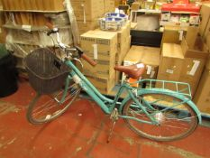 VITESSE WAVE 700C LADIES Single Speed Electric Bicycle RRP £1499 Halfords (no charger present and