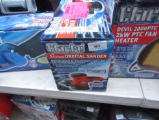 Clarke CROS3 450W Random Orbital Sander (230V) Please note, the condition of this lot may vary from;