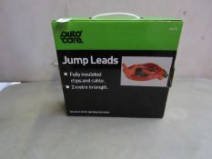 AutoCare - Jump Leads - Amperage Unspecified - Cable Length 2 Metres - Unused & Boxed.