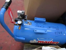 1x AM COMP TIG16/550 23 9768, This lot is a Machine Mart product which is raw and completely