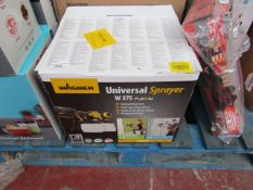 | 1X | WAGNER UNIVERSAL SPRAYER | UNCHECKED AND BOXED | NO ONLINE RE-SALE | SKU - | RRP £129.99 |