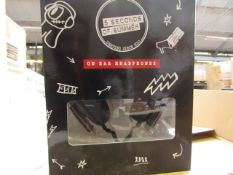 5x 5 Seconds of Summer headphones , new and boxed.