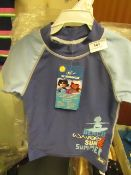 6 X Banz UV Swimwear Tops Aged 2 yrs New with Tags