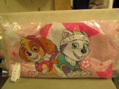 Paw Patrol Comfort Cushion Approx Size 80 X 40 CM New & Packaged