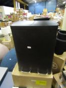 | 1X | MADE.COM COLTER 60L 2 COMPARTMENT SOFT CLOSE PEDAL BIN | LOOKS UNUSED (NO GUARANTEE) AND