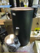 | 1x | MADE.COM CROSS FLAT TOP 27L BIN WITH MATCHING 3L PEDAL BIN | UNCHECKED WITH ORIGINAL BOX |