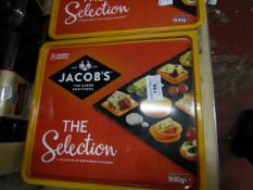 900g Jacobs The Selection. Unused but tubs might be slightly damaged. BB 30/11/21