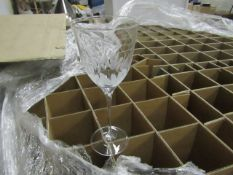 6x Wine Glasses. New - See Image For Design.