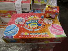 Box of 12 Packs of 2 Macarons Slime - New & Boxed.