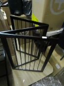 | 1x | MADE.COM INDUSTRIAL DESIGN FIREPLACE BARRIER | UNCHECKED | RRP - |