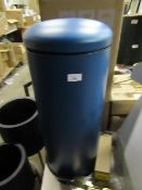 | 1x | MADE.COM JOS 30L DOMED PEDAL BIN | LOOKS UNUSED (NO GUARANTEE) | RRP œ39.99 |