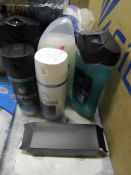 4x Items being 3 Lynx Products and aPower bank flash light