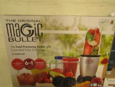 The Magic Bullet, unchecked and boxed.