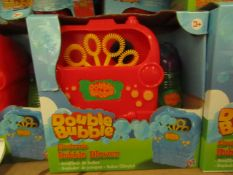 Double Bubble - Electric Bubble Blower - Unused & Boxed.