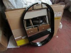   1X   MADE.COM BEX PILL SHAPED MIRROR   UNCHECKED WITH BOX   RRP £89  