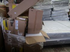   1X   PALLET OF MADE.COM RETURNS ALL WITH EITHER DAMAGE OR PARTS MISSING   CUSTOMER RETURNS  