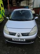 55 Plate Renault Grand Scenic Dyn-ique 16v 1.6i, MOT Expired October 2020, Mileage unknown as it