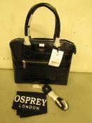 Osprey Handbag With Shoulder Strap & Dust Bag New RRP £59.99
