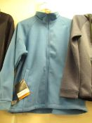 Regatta Fleece Thorr 111 Sky Blue Size S With Tags