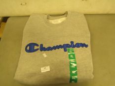 Champion Sweatshirt Grey Size X/L Looks Unworn