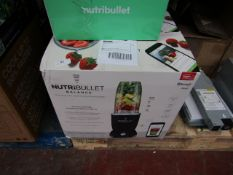  2X   NUTRI BULLET BALANCE   UNCHECKED AND BOXED   NO ONLINE RESALE   RRP £149.99   TOTAL LOT