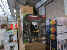   6X   POWER AIR FRYER 5L   UNCHECKED AND BOXED   NO ONLINE RE-SALE   SKU C5060191466936   RRP £69.