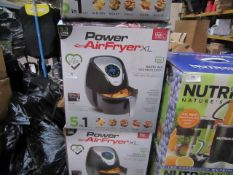   5X   POWER AIR FRYER 3.2L   UNCHECKED AND BOXED   NO ONLINE RE-SALE   SKU 5060191468053   RRP £