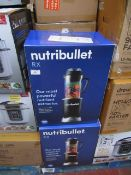   2X   NUTRI BULLET RX   UNCHECKED AND BOXED   NO ONLINE RESALE   SKU -   RRP £119.99   TOTAL LOT