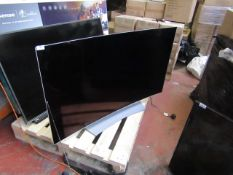 LG OLED curved 55EG920V TV, powers on (flashing red light) but no picture display, back panel also