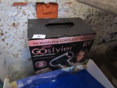   2X   GO STYLER CORDLESS HAIRDRYER   UNCHECKED AND BOXED   NO ONLINE RESALE   RRP £89.99   TOTAL