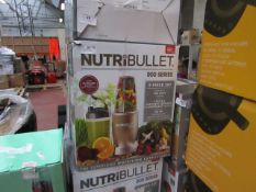   6X   NUTRI BULLET 900 SERIES   UNCHECKED AND BOXED   NO ONLINE RE-SALE   SKU C5060191467353  
