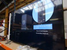 "Samsung UE75TU8000 75"" Dynamic Crystal Colour HDR Smart 4K TV, tested working Smart 4K Ultra HD"