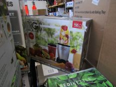   7X   THE MAGIC BULLET BLENDER   UNCHECKED AND BOXED   NO ONLINE RESALE   SKU C5060191467360  