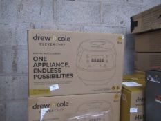   5X   DREW AND COLE CLEVER CHEF   BOXED AND UNCHECKED   NO ONLINE RESALE   SKU -   RRP £69.99  