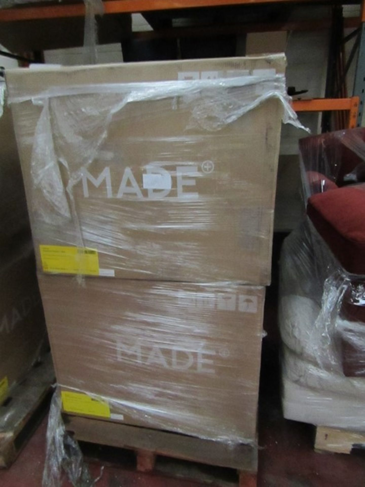   16x   PALLETS OF MADE.COM UNMANIFESTED SOFA PARTS, THESE ARE FROM VARIOUS SOFAS AND DONT APPEAR TO - Image 4 of 34