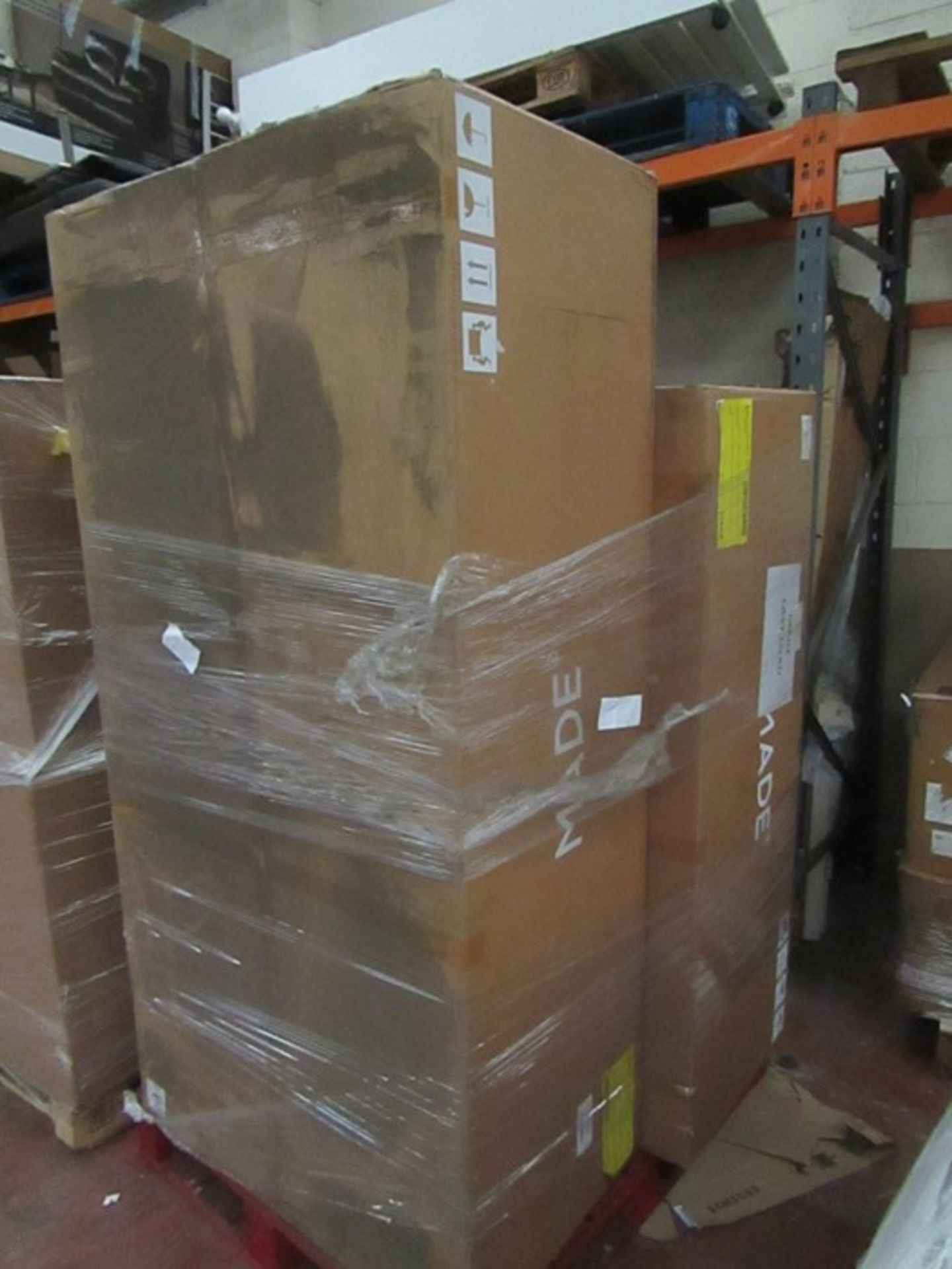   16x   PALLETS OF MADE.COM UNMANIFESTED SOFA PARTS, THESE ARE FROM VARIOUS SOFAS AND DONT APPEAR TO - Image 2 of 34